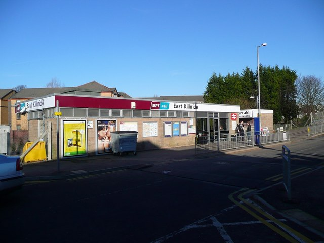 The station at East Kilbride