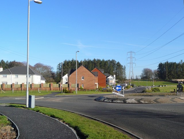 New housing off the Torrance roundabout