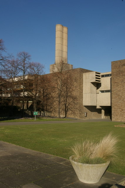 The front of Churchill College