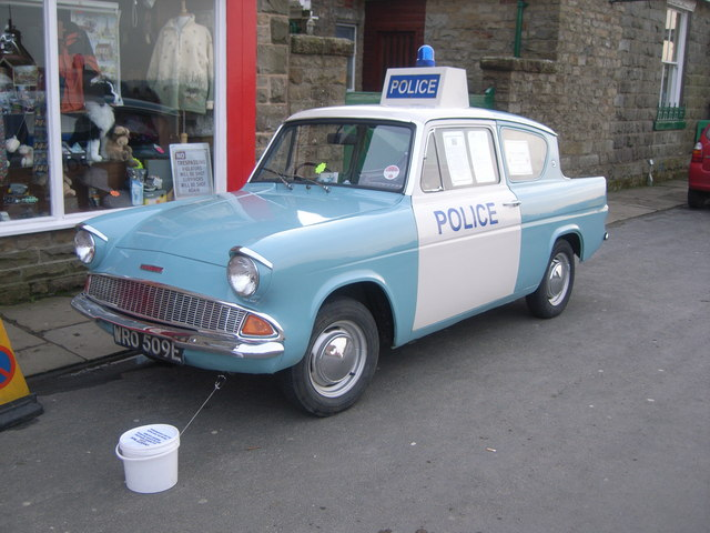 Heartbeat Police car