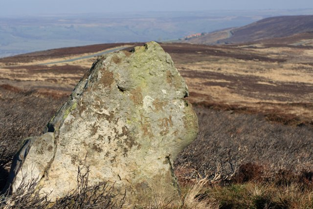 Standing Stone Just off the Hamer Road
