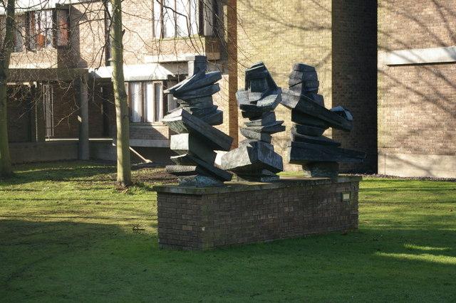 Three Figures, Sean Crampton, 1970