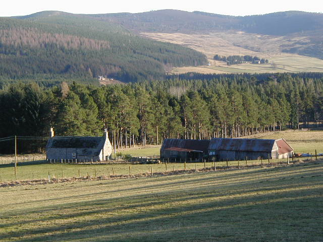 Clasachdhu cottage and steading