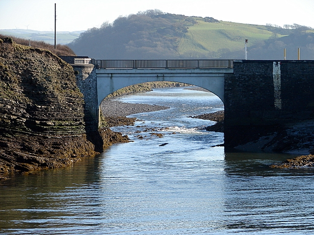 The first (last?) bridge over the Ystwyth