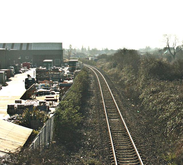 2008 : Approaching Melksham Station
