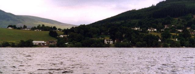 View of Fearnan from Loch Tay