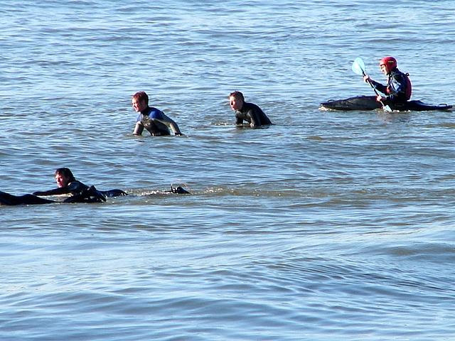 Water Sports at Aberystwyth