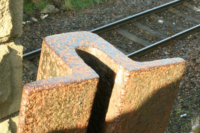 2008 : Broad Gauge Railway Line (detail)