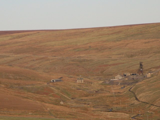 Grove Rake Mine from Linzgarth Common