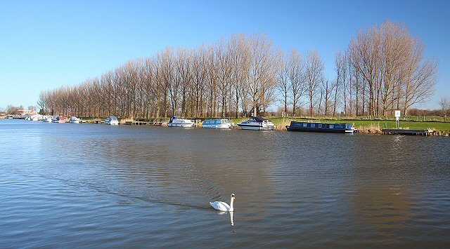 River Great Ouse at Denver