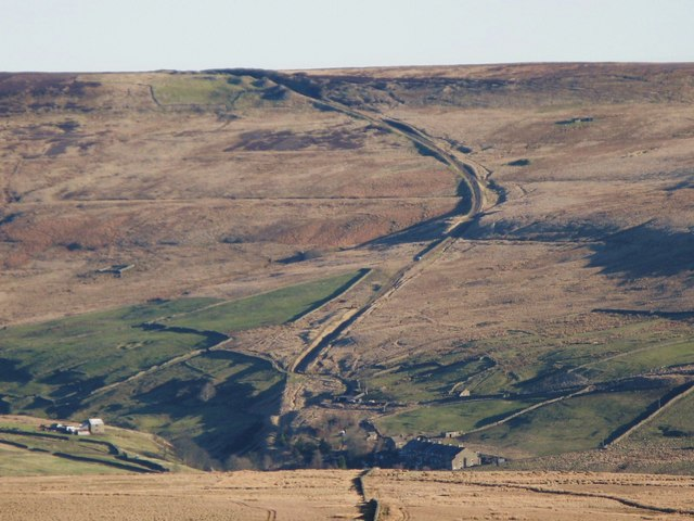 The Boltslaw Incline from Northgate Fell