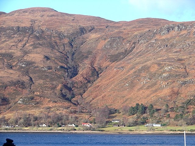 Trislaig viewed from Fort William