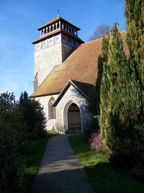 Tower - St Andrew's Church, Meonstoke