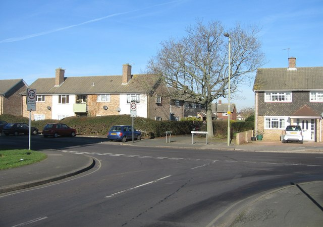 Brackley Way meets Pinkerton Road