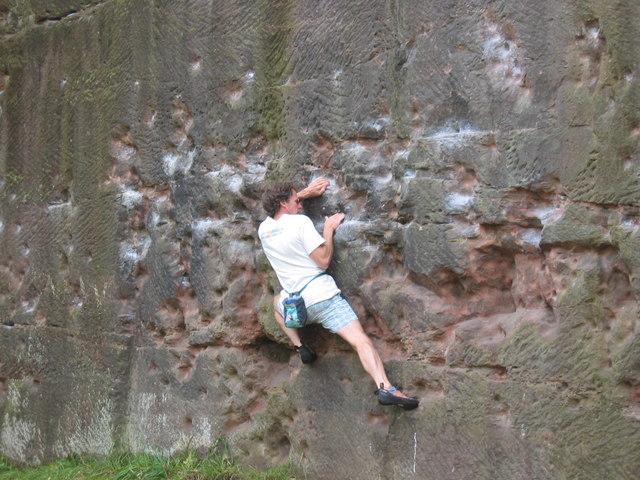 Bouldering at Pex Hill