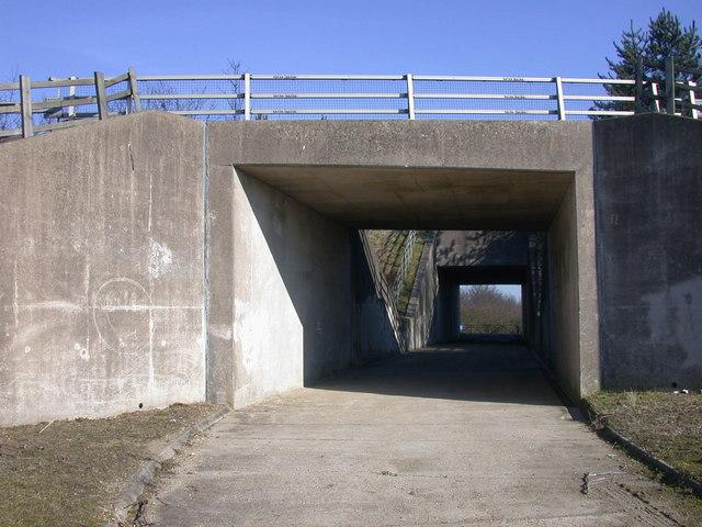 Bridges on the Madingley footpath