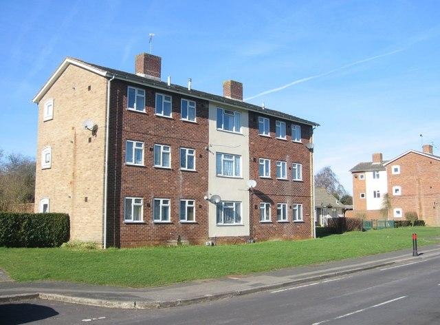 Block of flats - St Michael's Road