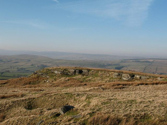 Goldsborough summit plateau