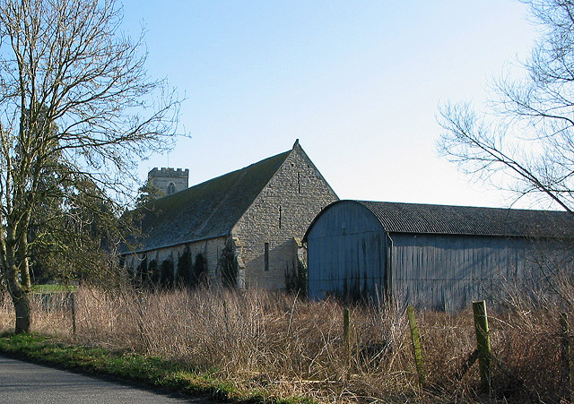 Barns, old and new