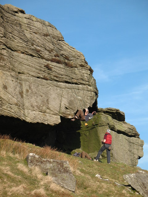 At play on the crag