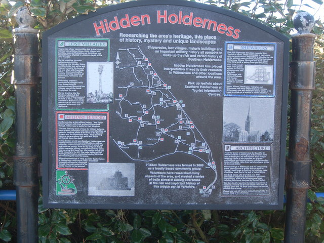 Hidden Holderness information board