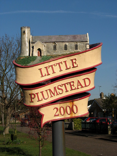 Little Plumstead - village sign