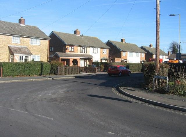 St Michael's Road meets St Peter's Road
