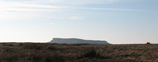 Moorland & 'Table Mountain'