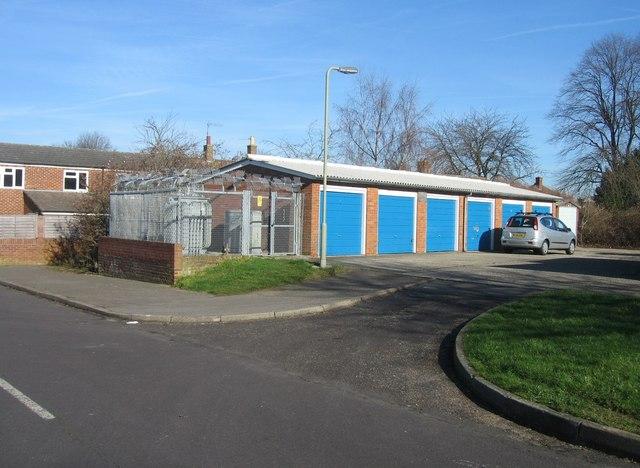 Sub station & garages - Bardwell Close