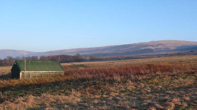 Farm building in sunny Perthshire
