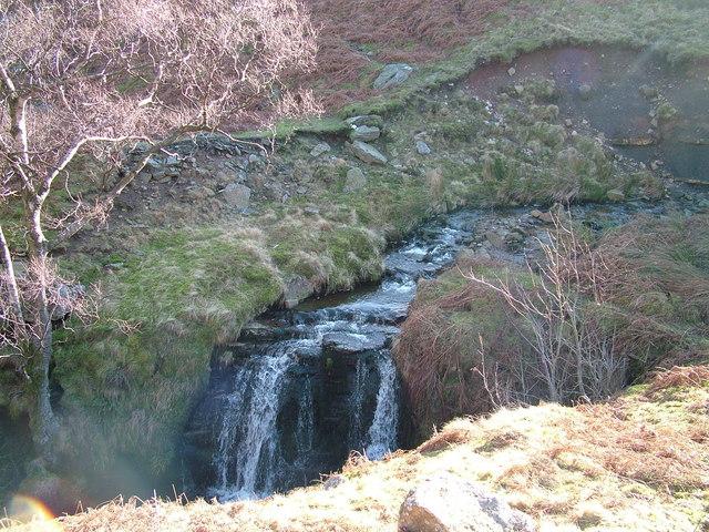 Waterfall on Bollihope Burn