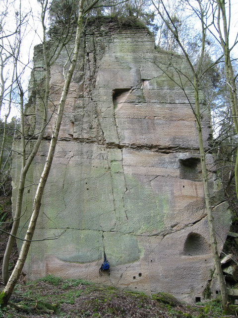 The White Tower at Grinshill quarry