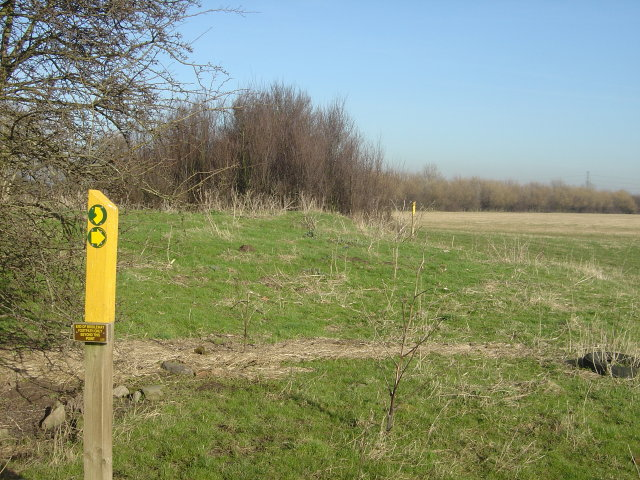 End of Bridleway, footpath only beyond this point.
