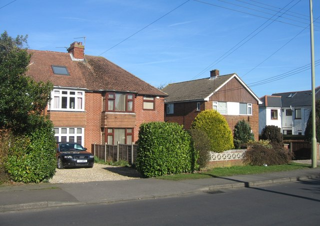 Housing on the Old Worting Road