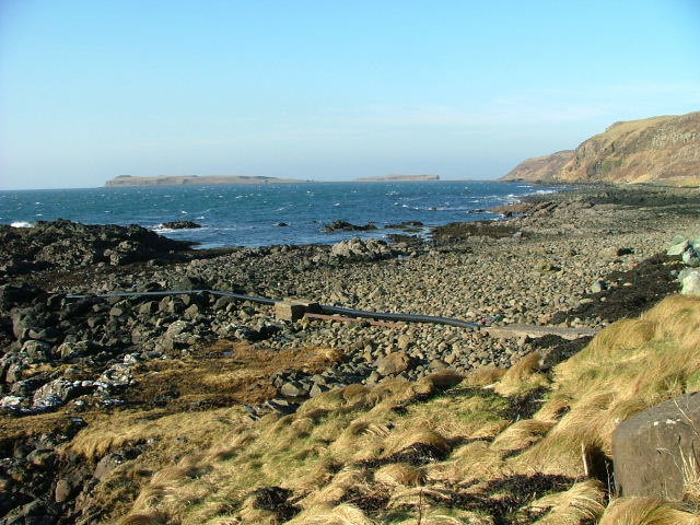 Shoreline at Lower Halistra