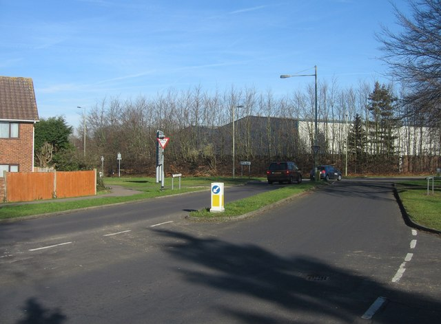 Old Worting Road meets Worting Road