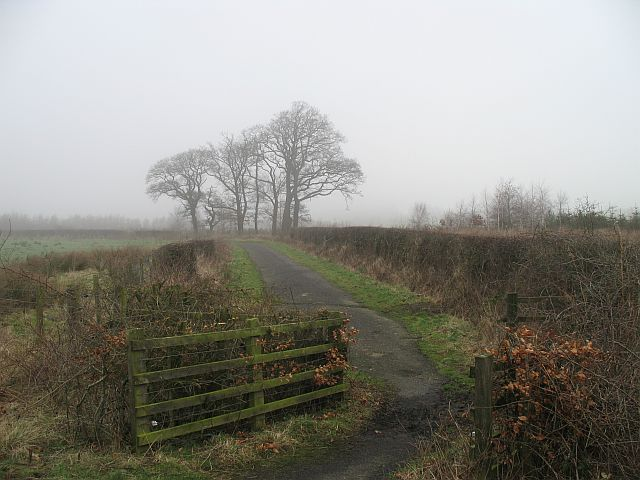 Disused road, Blairingone