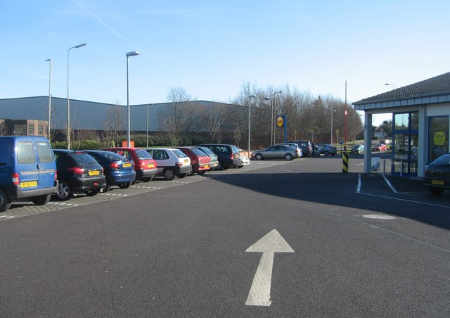Lidl car park
