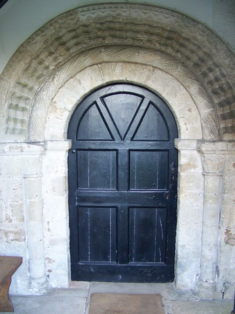 Norman Arch, St Mary's Church, Droxford