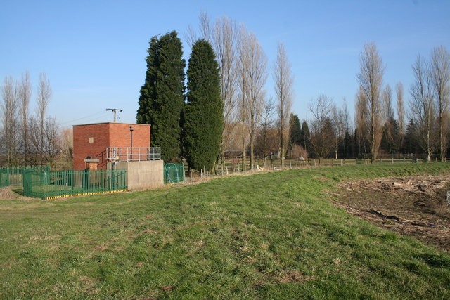 Temple Manor pumping station