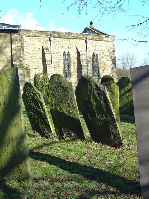 Gravestones at Ratcliffe