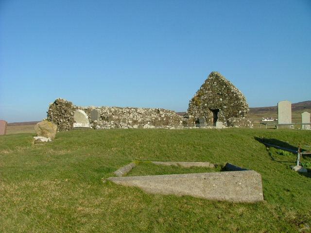 The Ruins of Trumpan Church