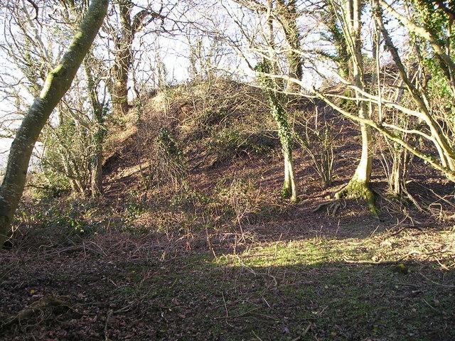 Pencastell Motte