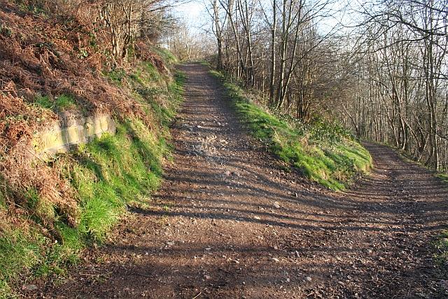 Junction of Paths below Black Hill