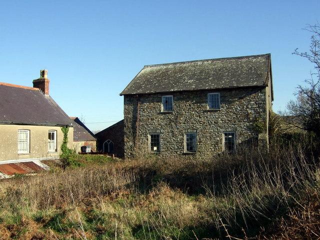 Ramah chapel,  Brynhenllan, rear view