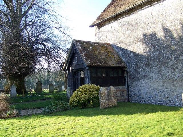 Porch, St Peter's Church, Soberton