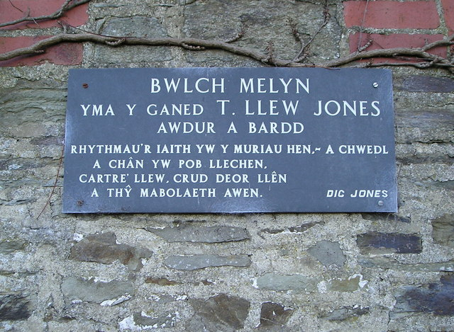 Bwlch Melyn Plaque