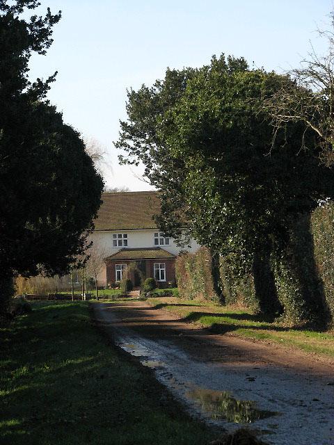 Driveway to Hall Farm