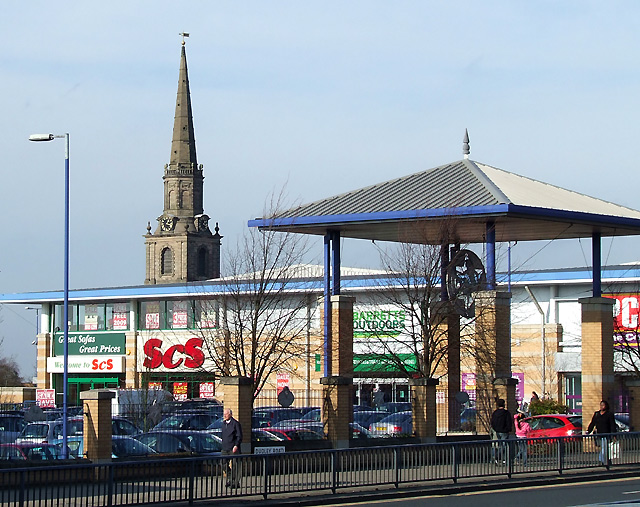 St John's Retail Park, Wolverhampton