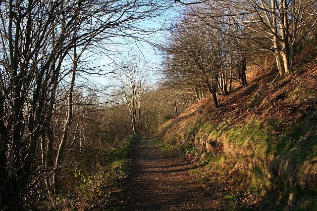 Path South of Berrington's Quarry